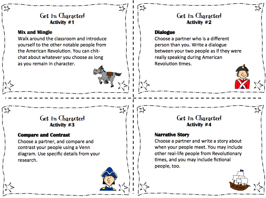 American Revolution Research Project with Creative Extensions – French Revolution Worksheets