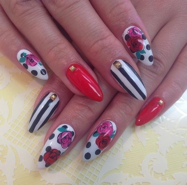 DIY Nails Art :DIY Stiletto Nails