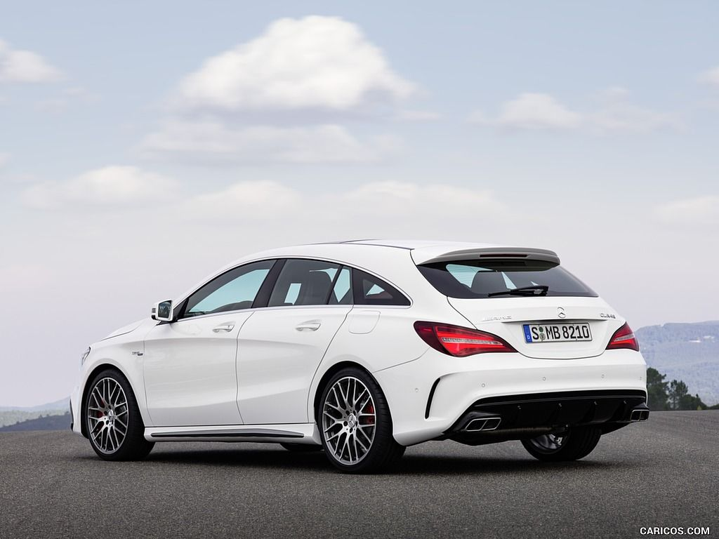 2017 Mercedes Amg Cla 45 Shooting Brake Wallpaper