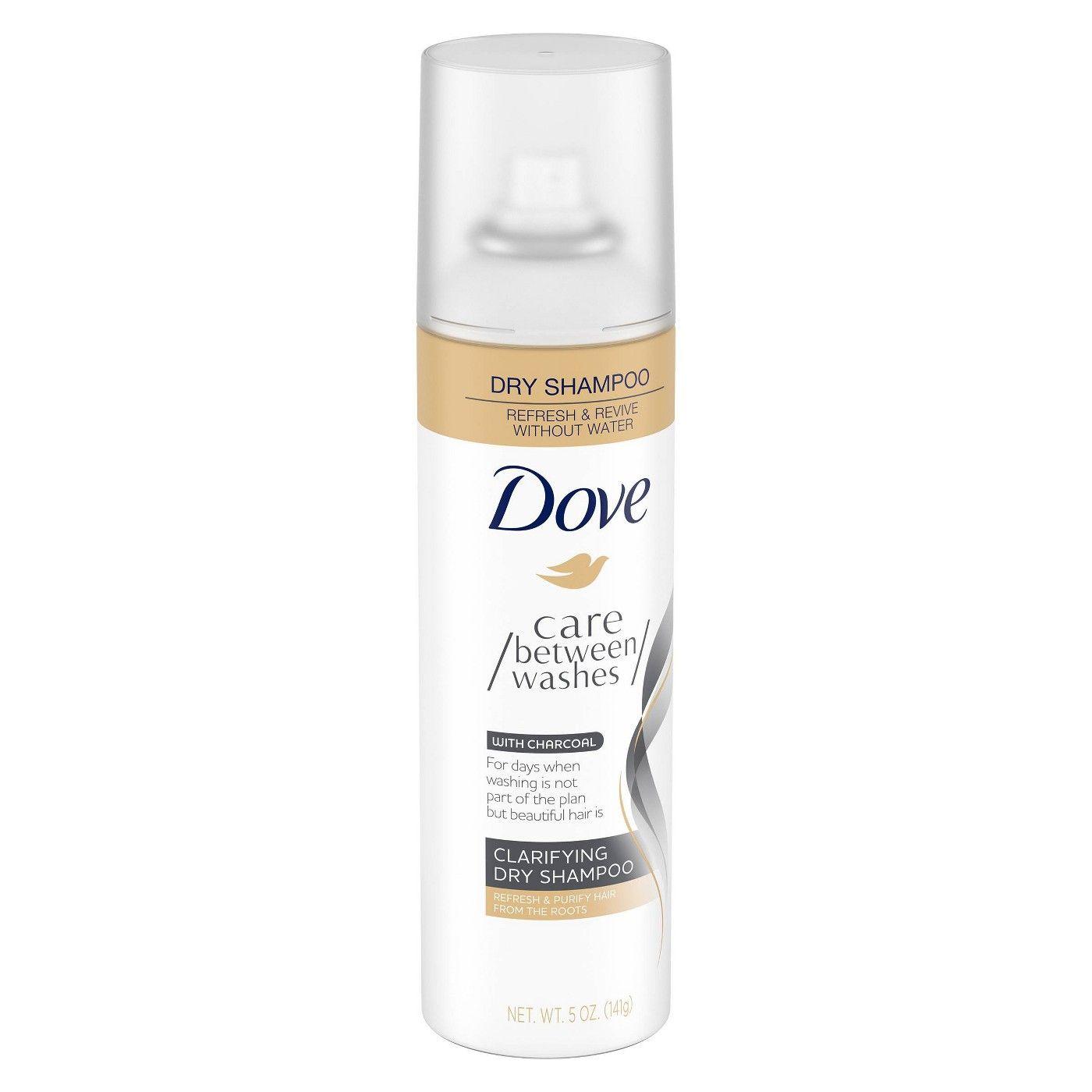 Dove Clarifying Charcoal Dry Shampoo 5oz Dry Shampoo Shampoo Dove Dry Shampoo