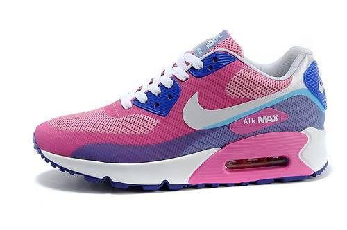 Nike Air Max 90 Hyperfuse Pink/purple/white by MFancy ...