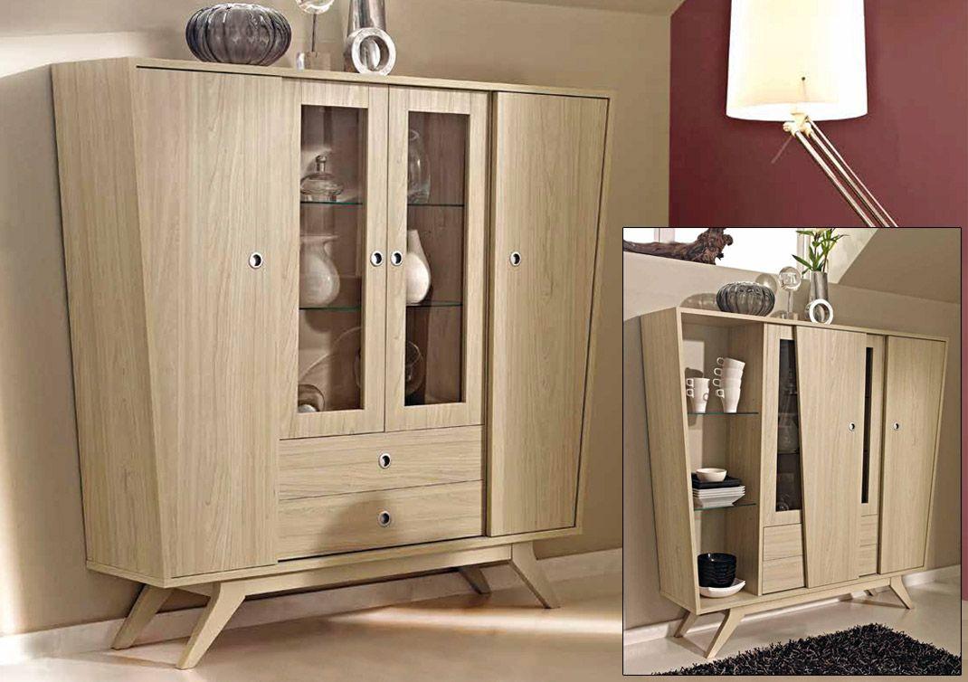 Mesa Consola Convertible En Mesa Comedor Estante De Cristal  # Muebles Vitrinas Para Comedor