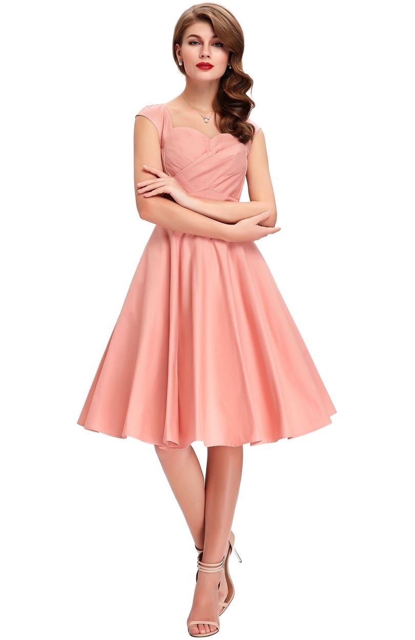 Sukienka W Stylu Pi Up Bawełniana Sukienka Na Wesele Sukienki