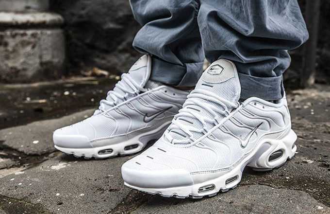 This Ghostly Nike Air Max Plus Will