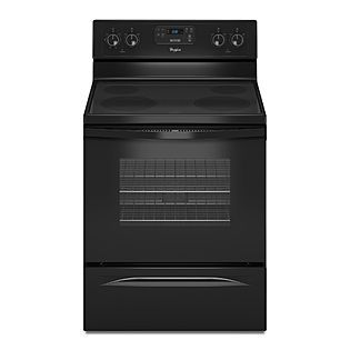 Whirlpool 30 Self Cleaning Freestanding Electric Range Black Sears Item 02261459000 Mod With Images Freestanding Electric Ranges Electric Range Oven