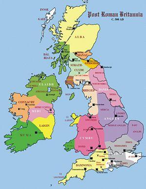 Timeline Of Saints Orthodoxwiki Scotland History Map Of Britain