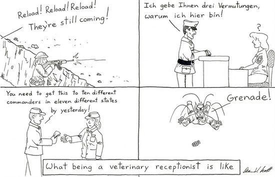 Receptionist Analogy