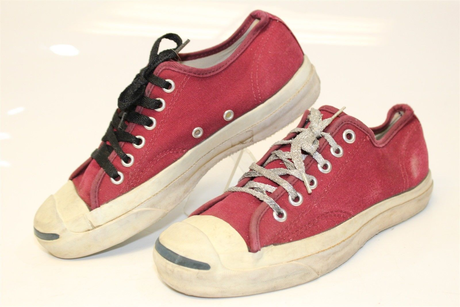 34d9f323cade Converse Jack Purcell Vintage USA MADE Men s 5.5 Low Top Sneakers Shoes eg
