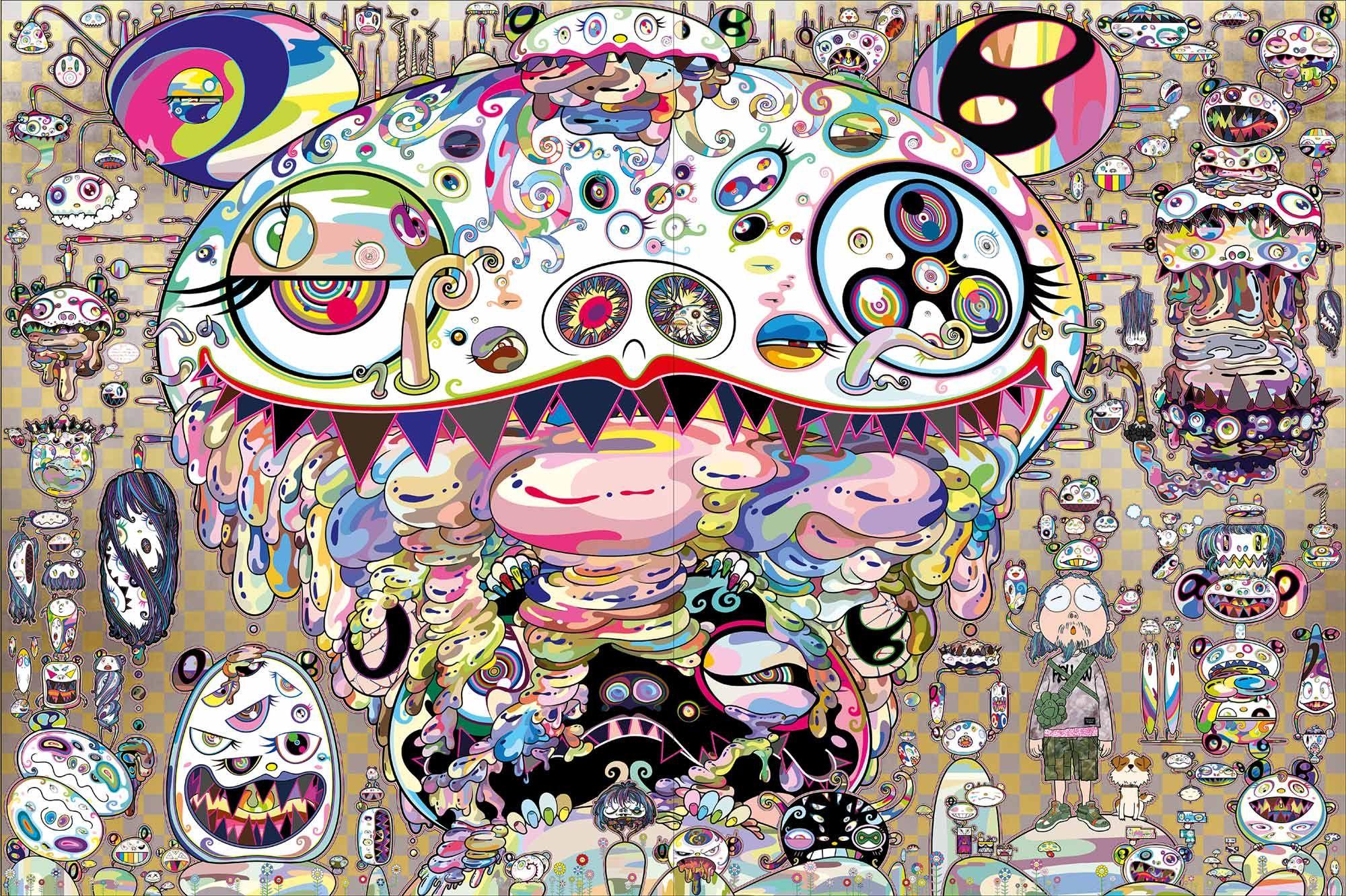 Image result for takashi murakami art takashi murakami