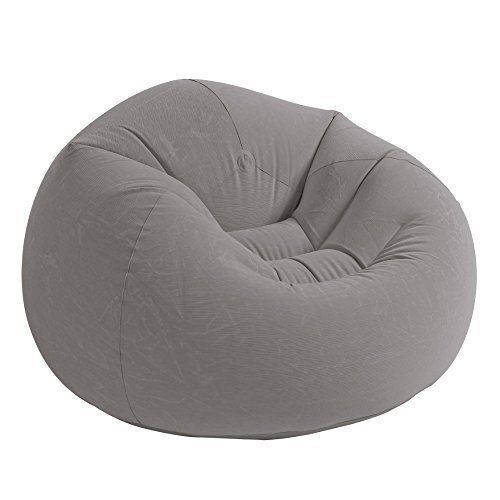Dorm Chair Beanless Bean Bag Lounge Inflatable Seat Gaming Room Big Lounger #Intex