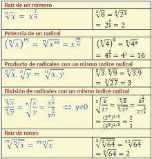 Leyes de los exponentes y radicales - Algebra | Matemáticas ...