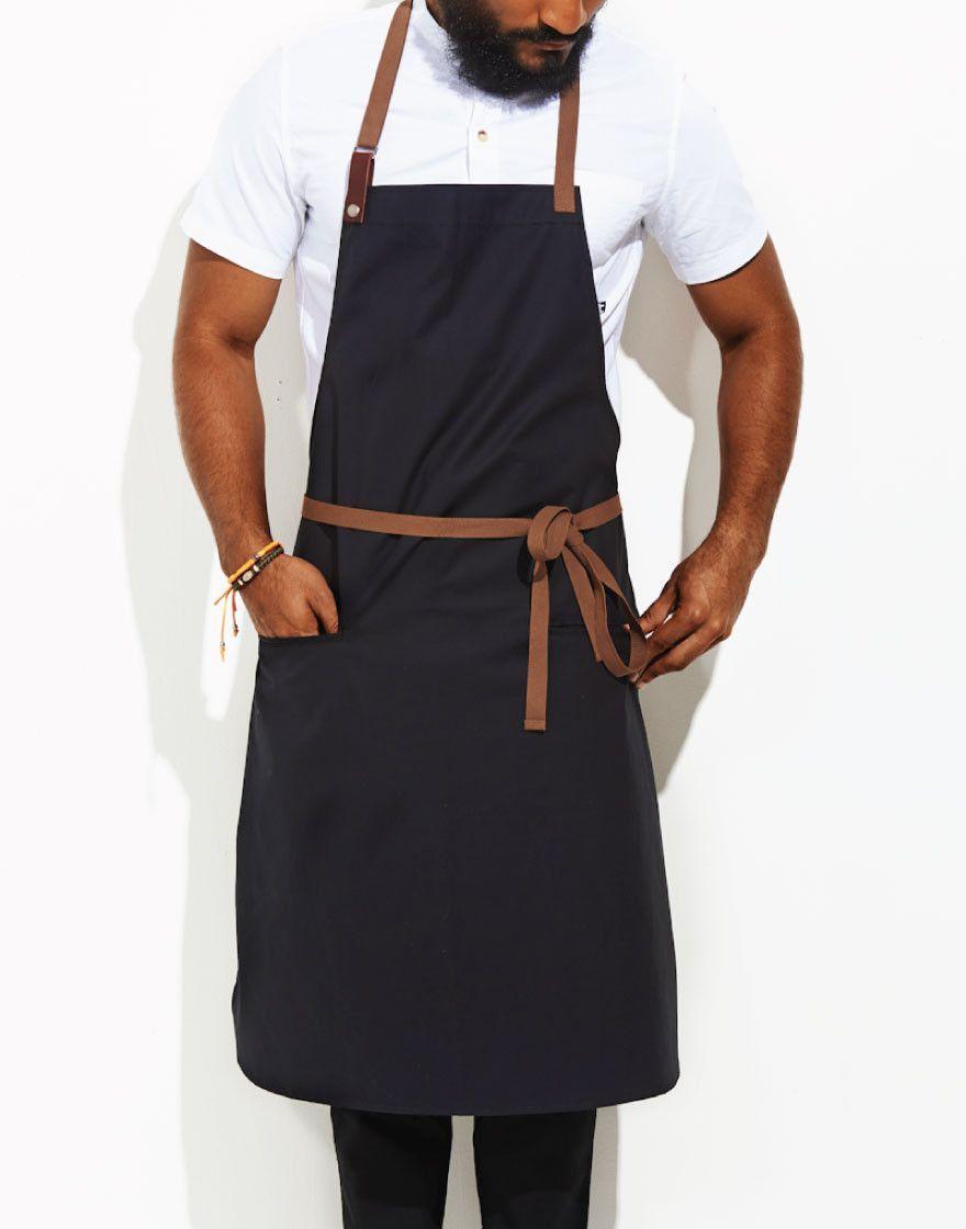 White apron brisbane - Contra Chef Aprons