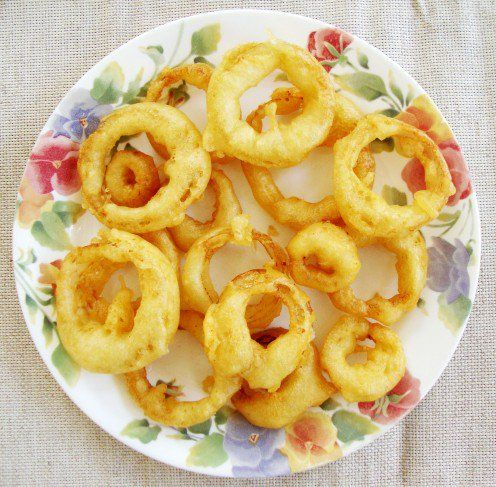 How to Make Homemade Fried Onion Rings #howtofryonions
