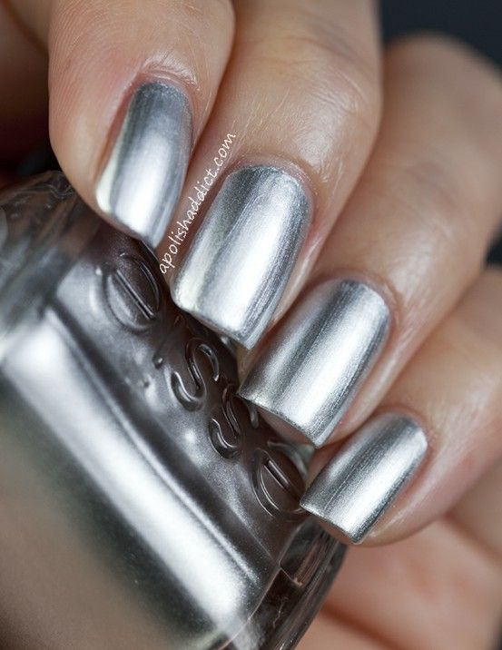 Essie | No Place Like Chrome | nails | Pinterest | Essie, Manicuras ...