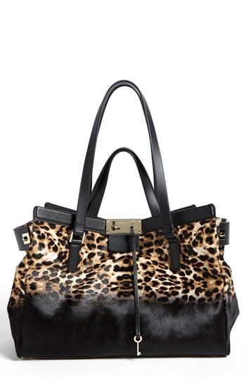 34008729d0 Jimmy Choo  Farrah  Dégradé Leopard Print Calf Hair Satchel available at   Nordstrom