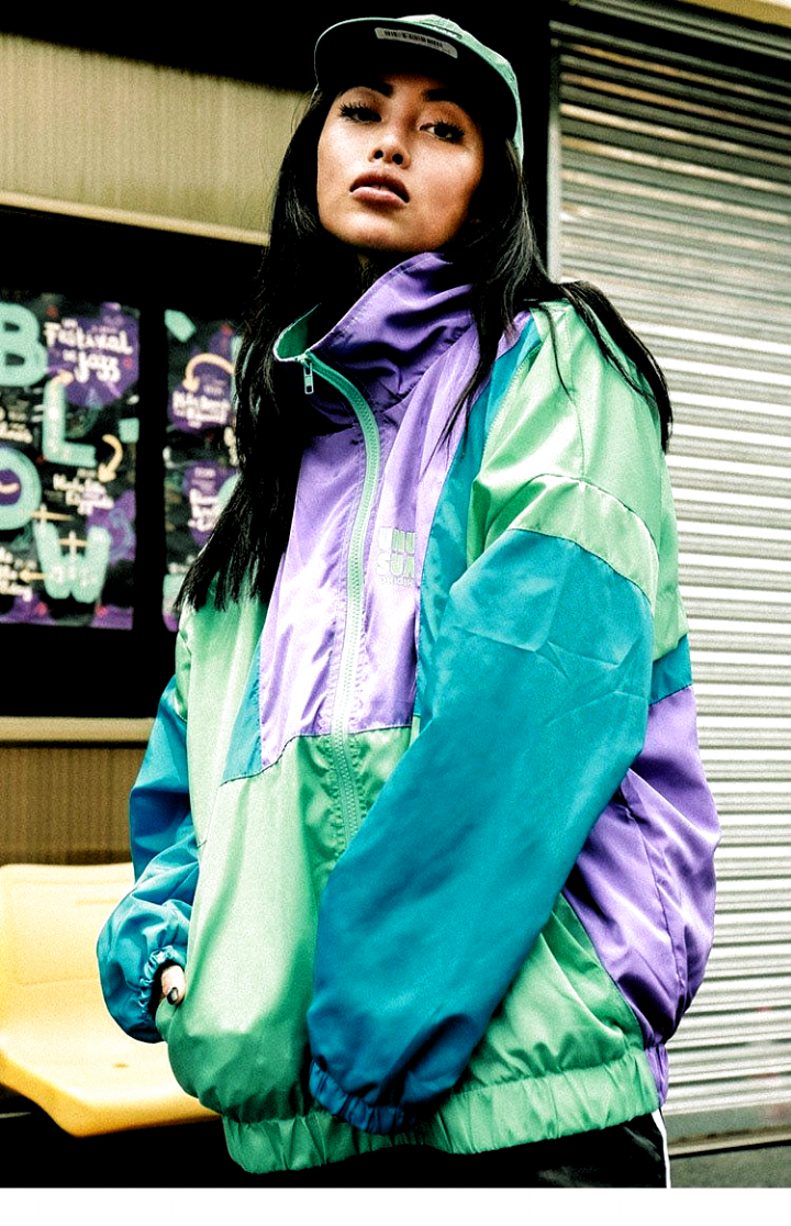 Autumn Hip Hop Windbreaker Jacket Oversized Mens Harajuku