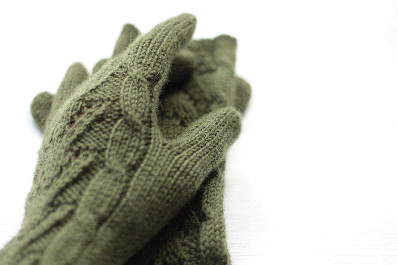 Women S Long Gloves Hand Knitted Warm Winter Warmers Boho Etsy Long Gloves Women S Mittens Wool Mittens