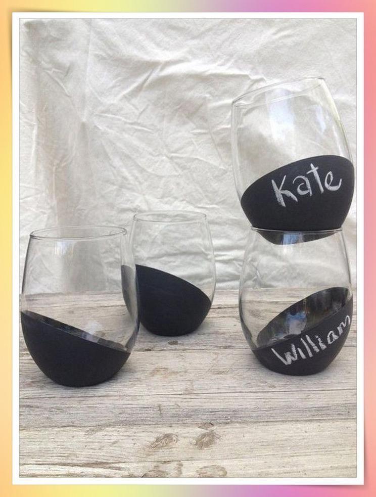 Ideal Wedding Party Favor Ideas Weddingfavor Weddingpartyfavorsideas Diy Wine Glasses Painted Wine Glasses Stemless Wine Glasses