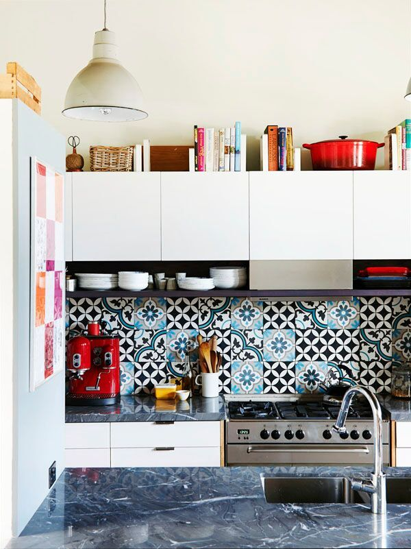 Dropbox - Kitchen_SpanishTiles.jpg | Kitchen | Pinterest