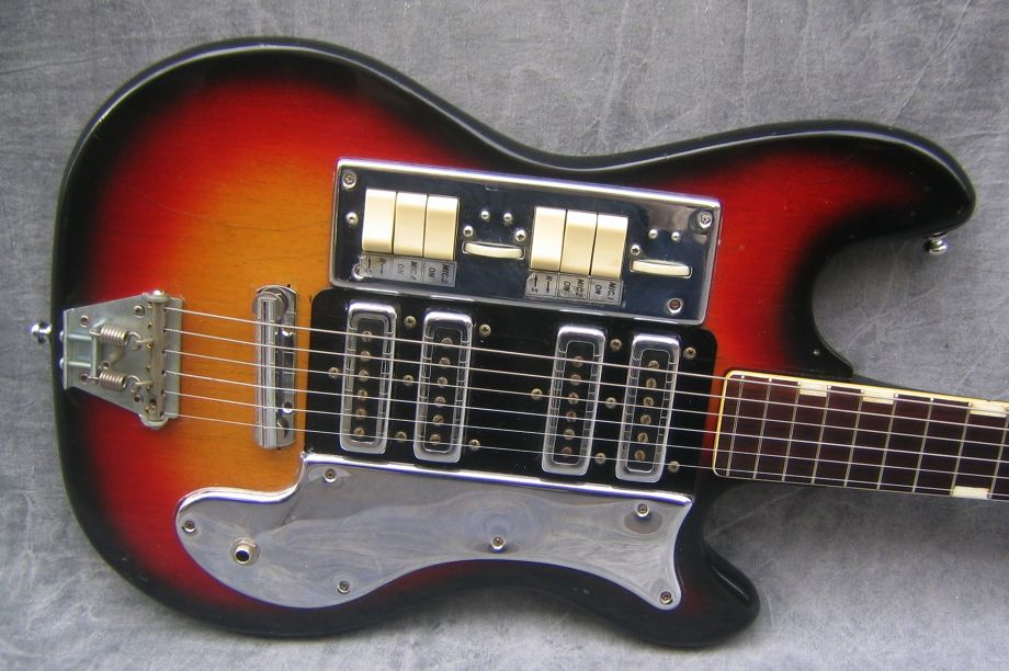 1960s - Teisco | guitars | Pinterest | Posts, Photos and Electric ...