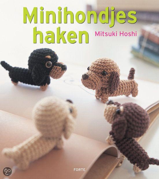 Mini Hondjes Haken Crochet Cutie Haken Hond Haak En Haakpatronen