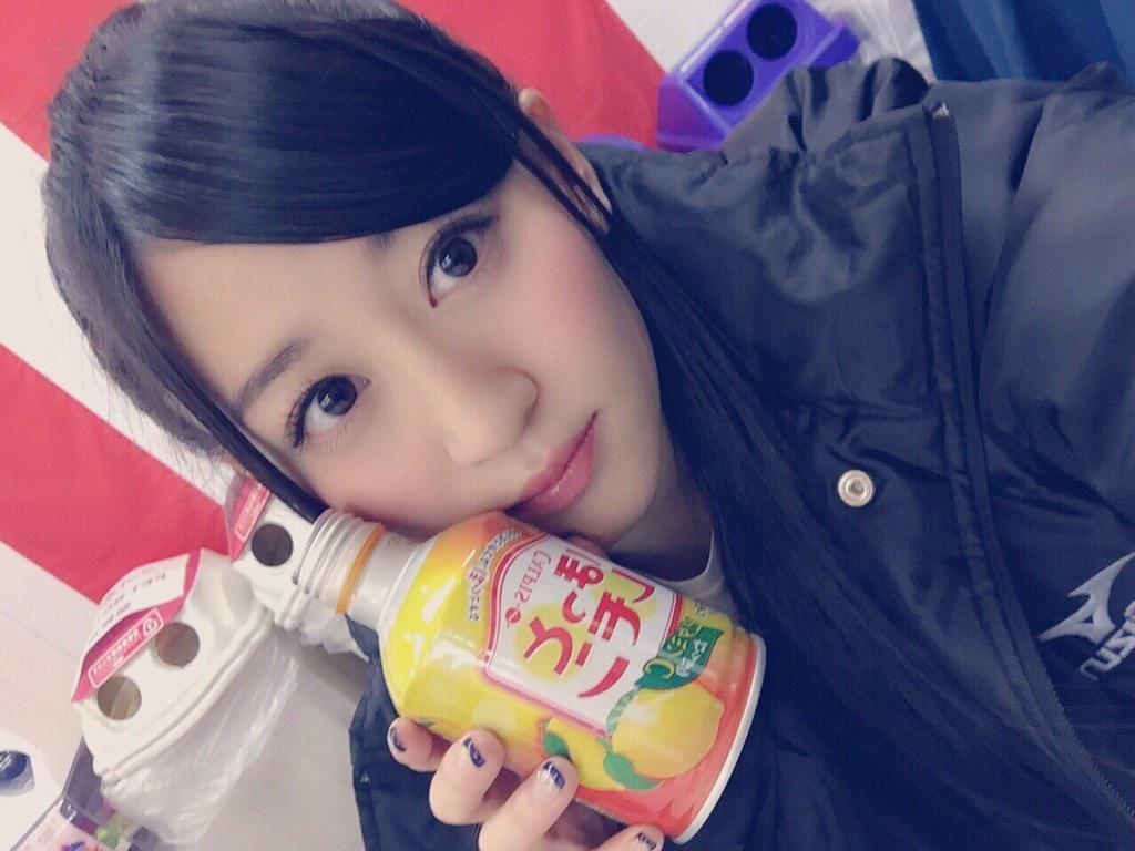 """Kei Jonishi """"寒い外でのホットレモン最高(*^^*)❤️"""""""