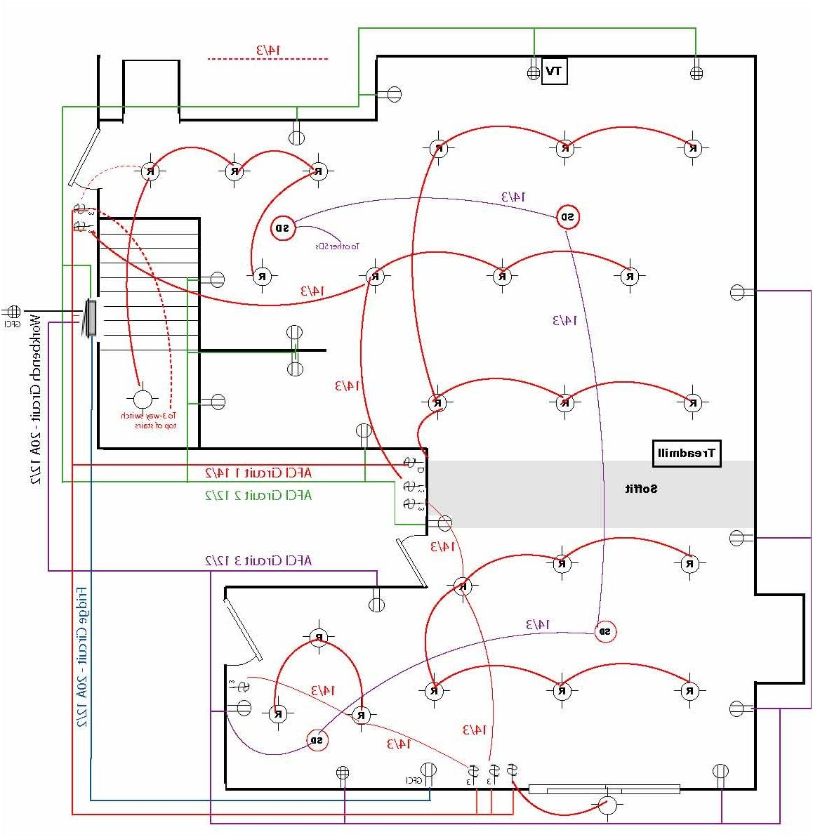 basement wiring diagram review for how to wire a diagram from rh pinterest com Basement Electrical Prints Basement Electrical Plans