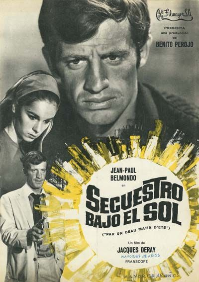 Secuestro Bajo El Sol 1965 Par Un Beau Matin D été De Jacques Deray Tt0059562 Películas Completas Bajo El Sol Secuestro