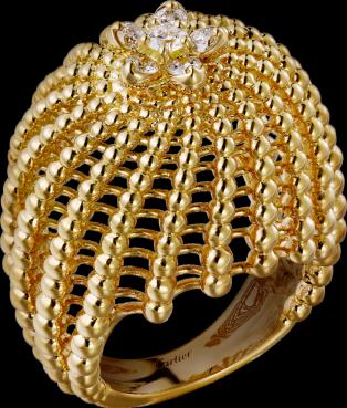 81bad9d1f37e Sortija Cactus de Cartier Oro amarillo