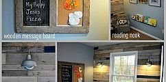 All the fun accessories http://www.eastcoastcreativeblog.com/2011/10/pallet-possibilities-pallet-wall.html