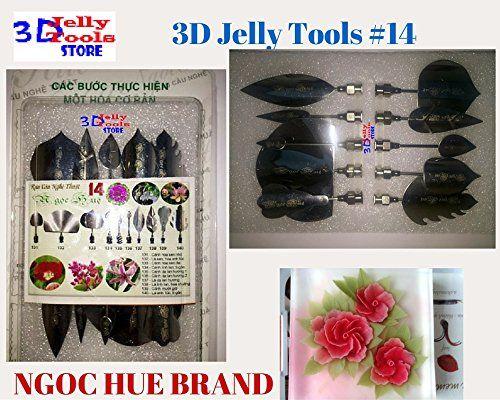 3d Gelatin Art Tools Type 14 3d Jelly Cake Tools 10 Pcsset