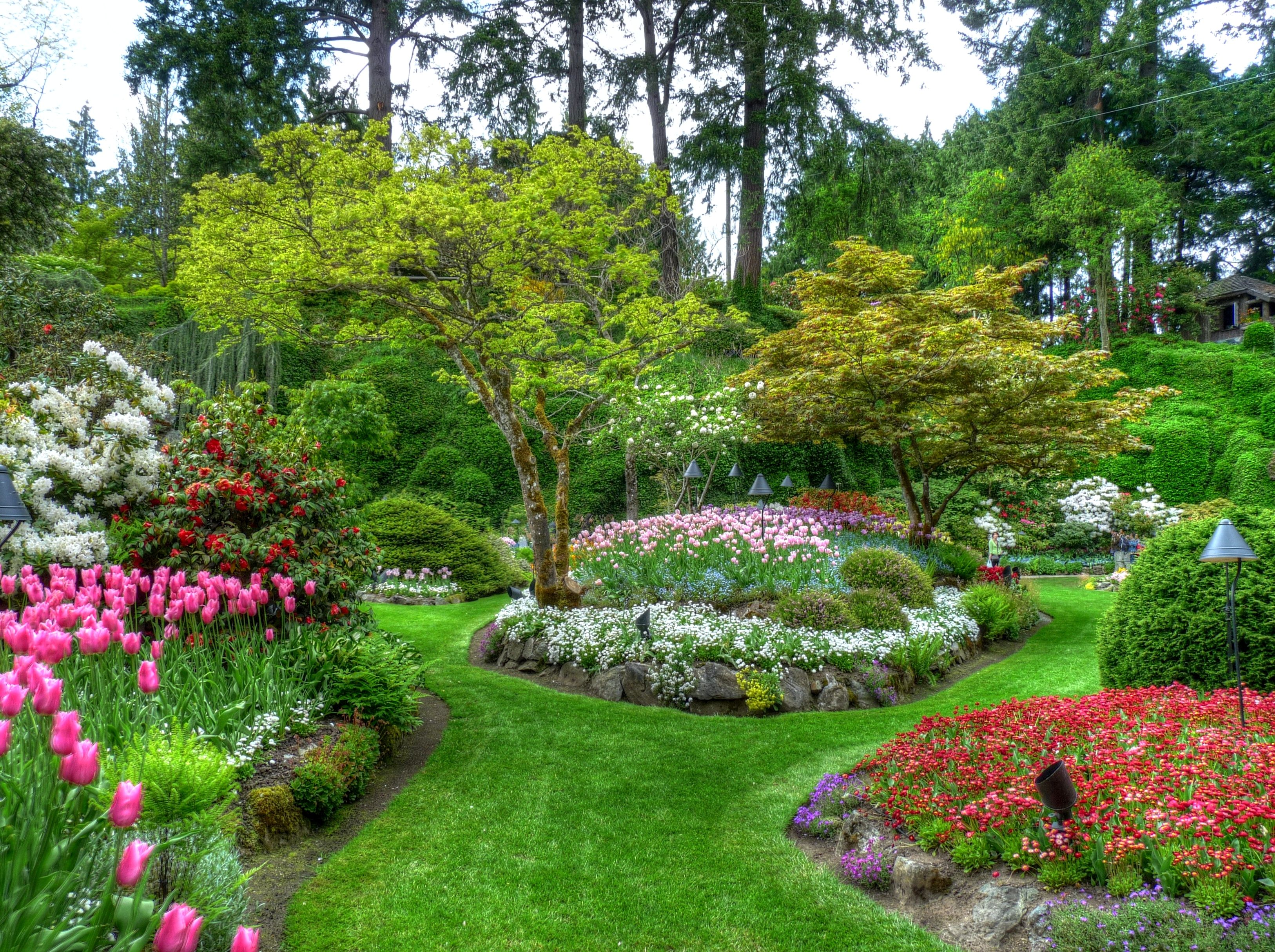Butchart Gardens near Victoria BC Buchart gardens
