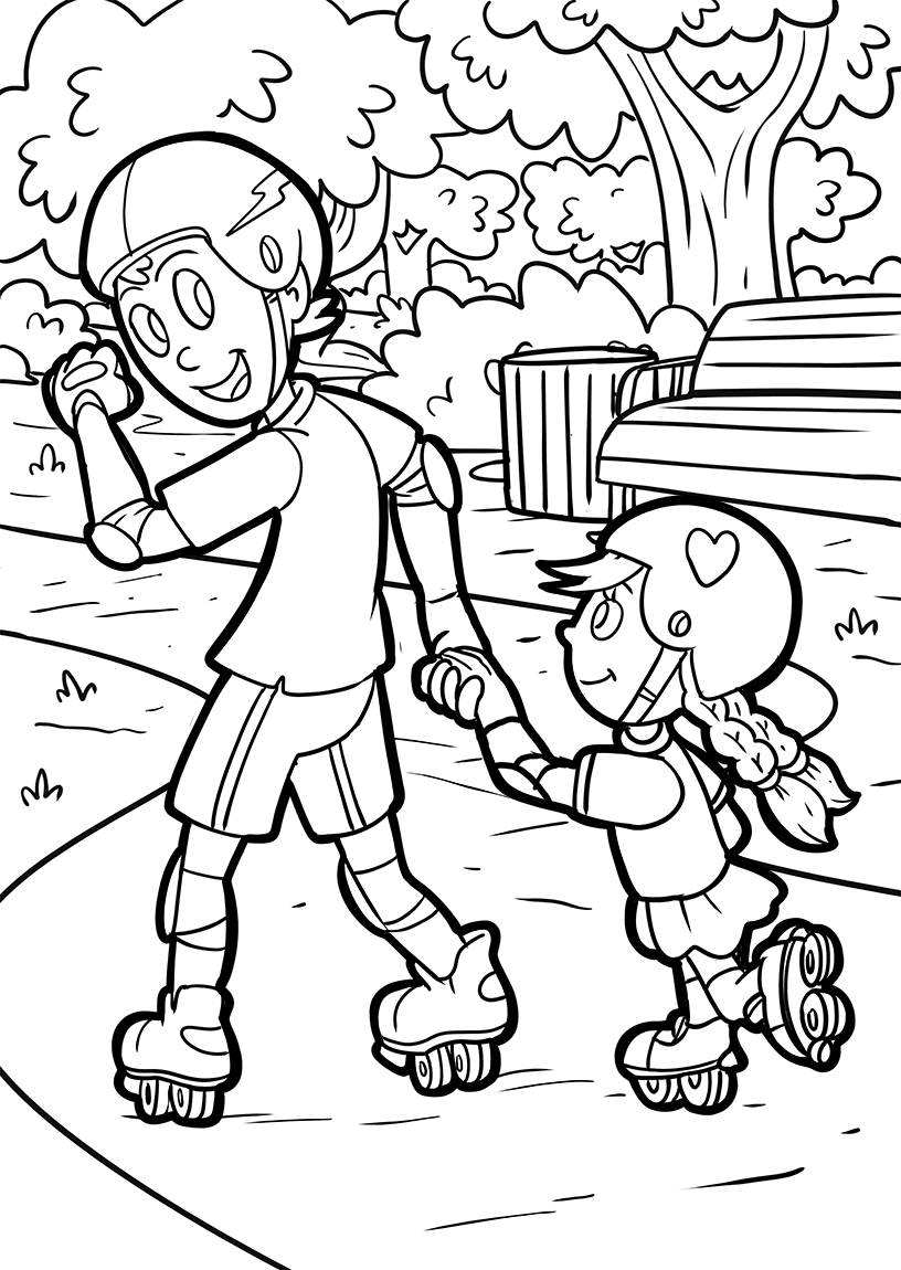 Free Coloring pages for Kids in English language - malvorlagen-seite ...