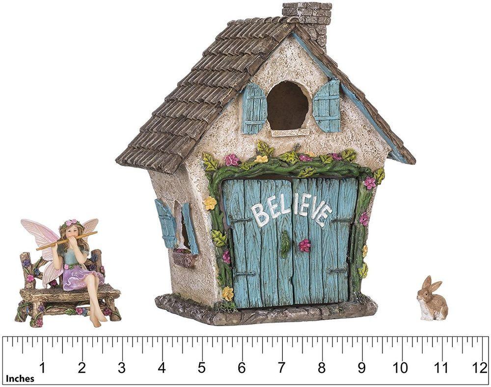 Details about Spring Decor Fairy Garden House Kit Miniature