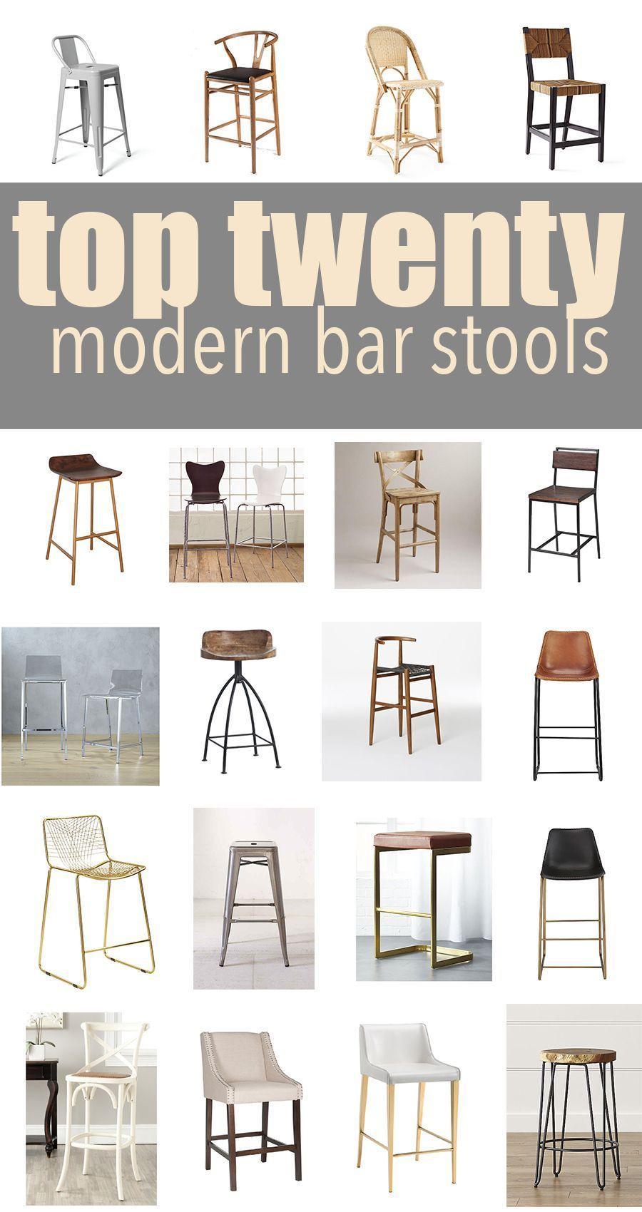 Top 20 Modern Kitchen Bar Stools Bathrooms Remodel Kitchen