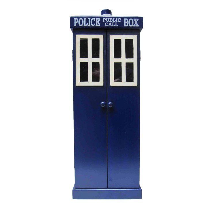 Police Call Box CD Cabinet