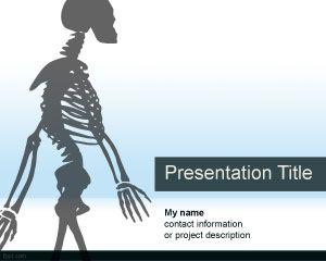 Plantilla Powerpoint De Anatoma Plantillas Powerpoint Gratis