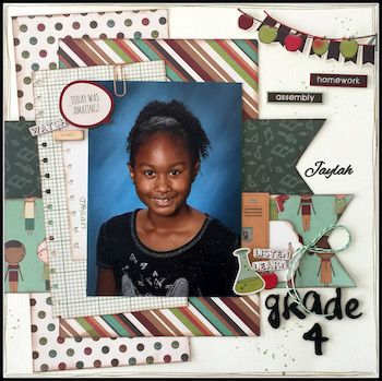 Best Monthly Scrapbooking Layout Kit Club At The Scraproom 400 x 300