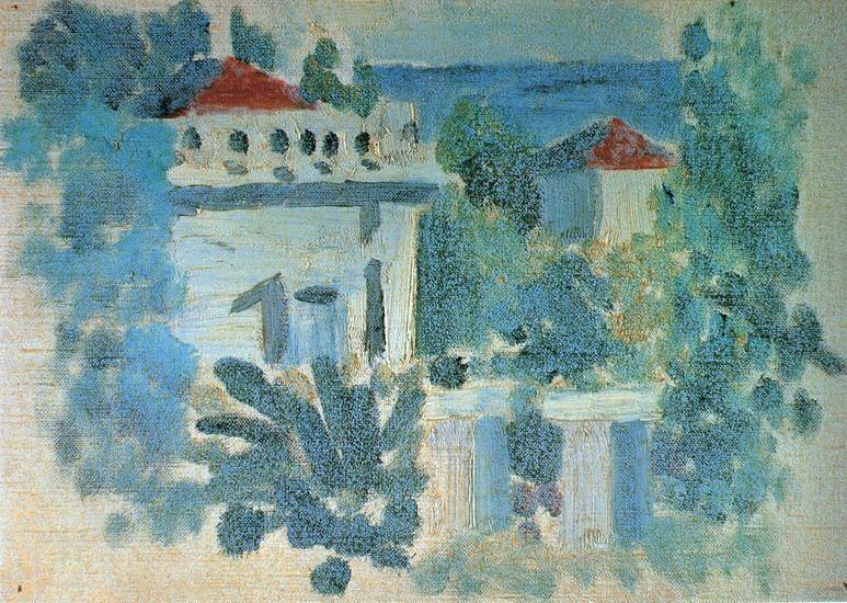 """Pablo Picasso, """"Home"""", 1920"""