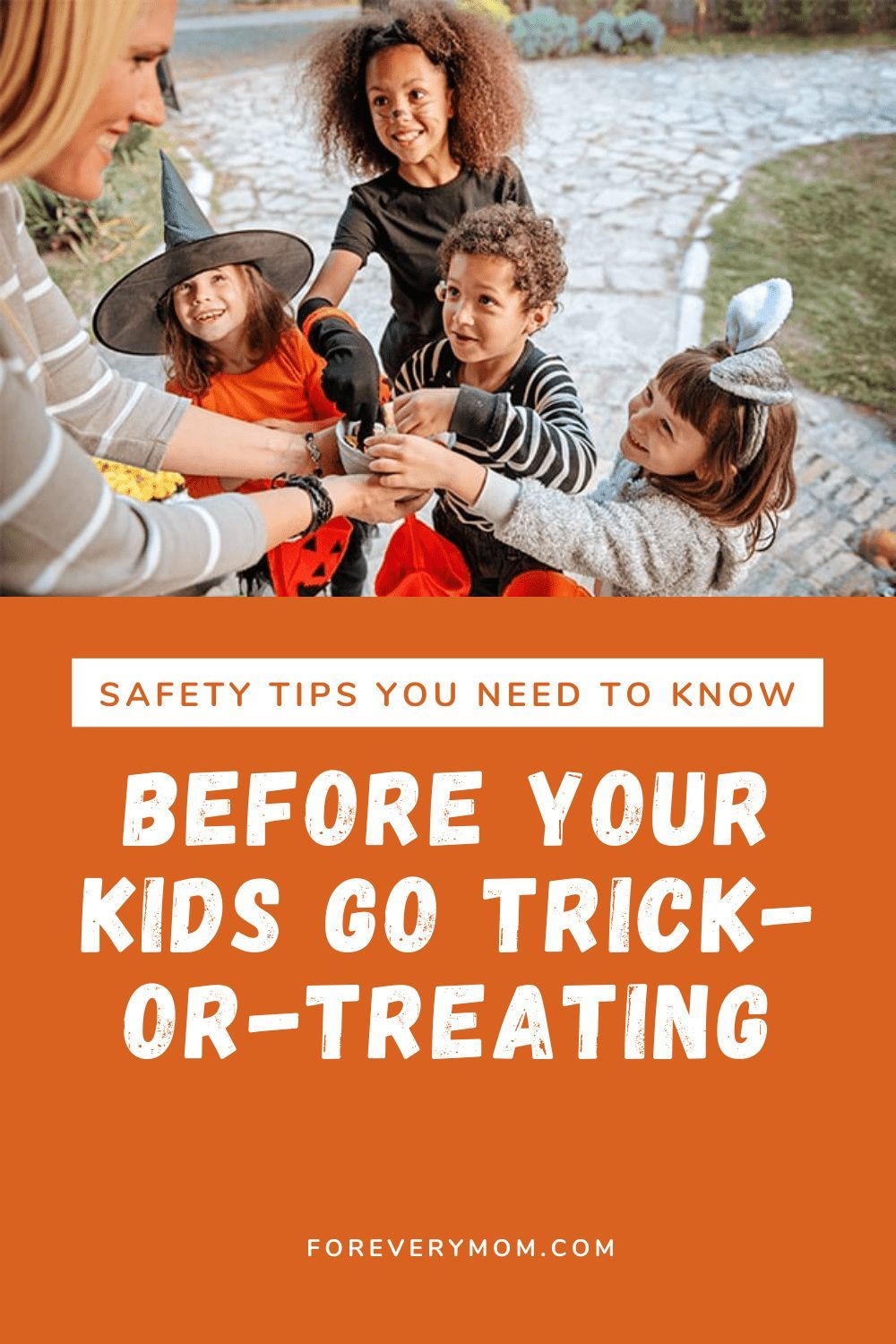 Safety Tips You Need to Know Before Your Kids Go Trickor