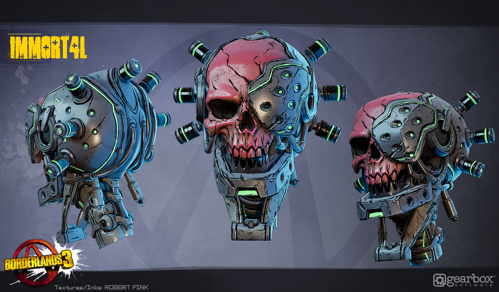 Artstation Borderlands 3 All Characters And Skins By Liquid Development Liquid Development Borderlands Art Borderlands Character Design