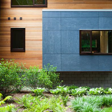 Cement Fiber Board Meets Wood Siding Whisenhouse Exterior