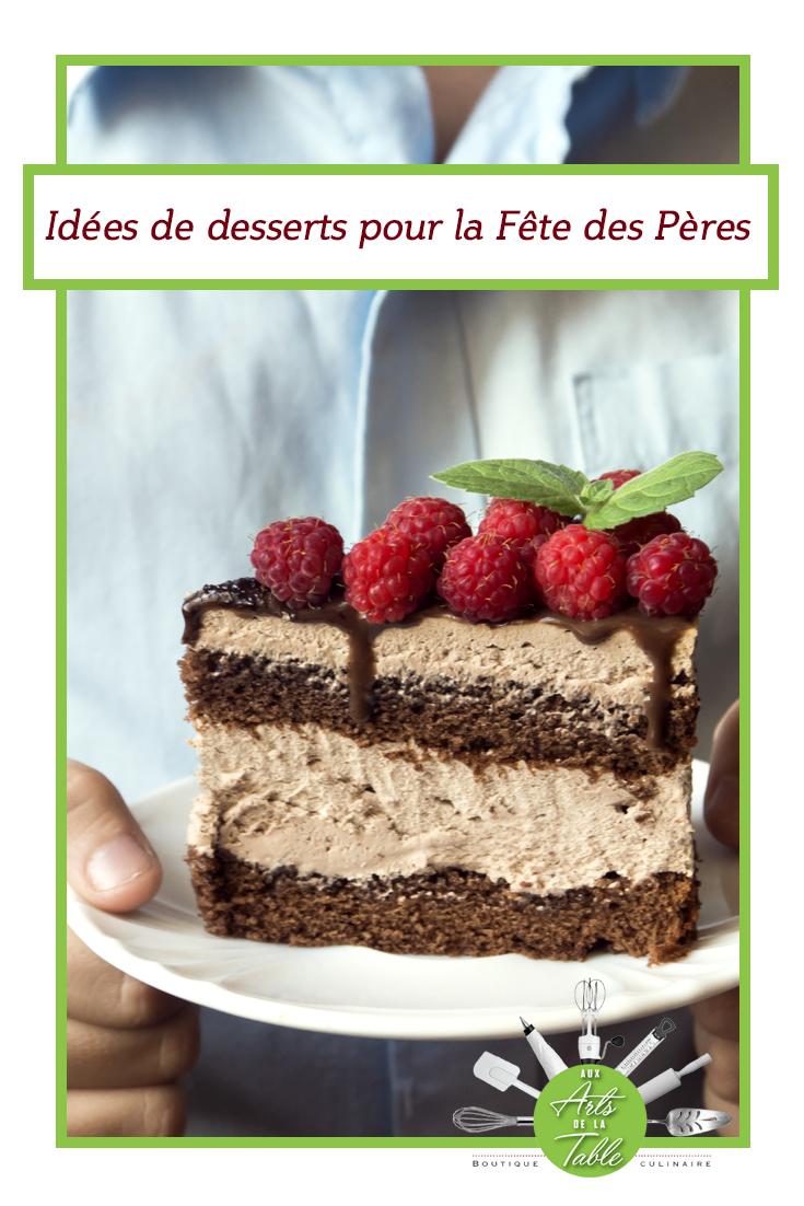 Chose A Faire Pour La Fete Des Pere 8 desserts pour la fête des pères | idée dessert, idée