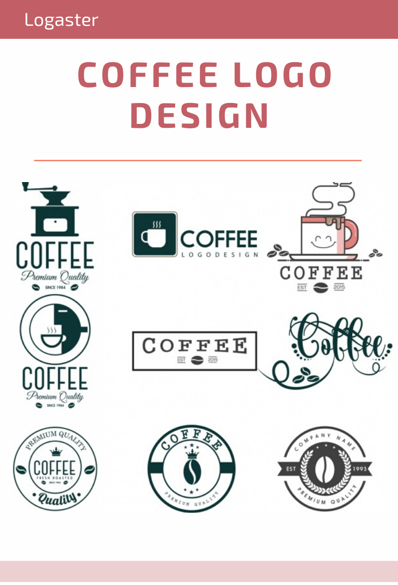 Awesome Pinterest Coffee Logo Design wallpapers to download for free greenvirals