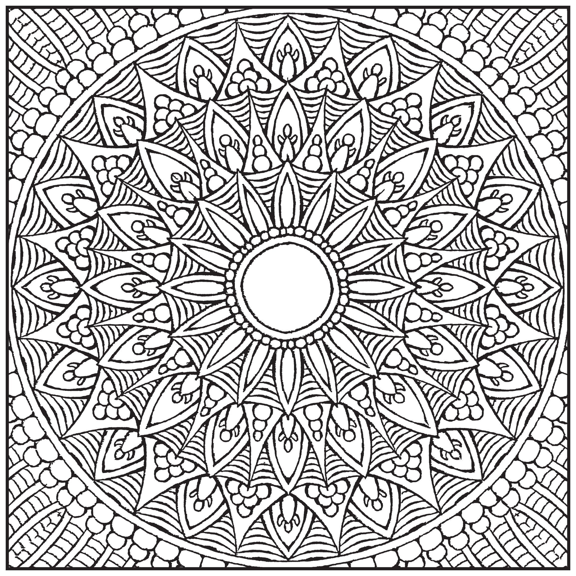 Mandala Adults Colouring Book Collection