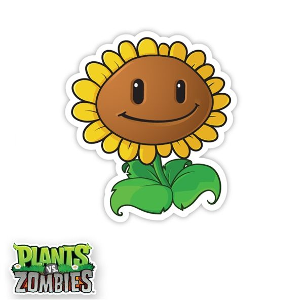 Not Found Plants Vs Zombies Sunflower Wall Art Zombie