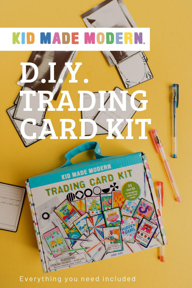 Trading Card Kit Card Kit Arts And Crafts Kits Easy Crafts For Kids