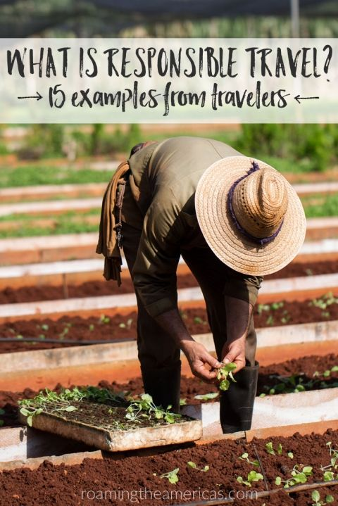 What is responsible travel? 15 stories from travelers around the world | International Year of Sustainable Travel 2017 @roamtheamericas