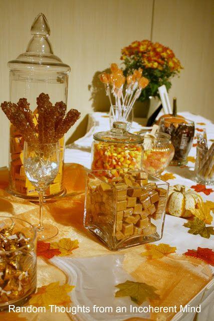 Autumn Candy Buffet Fall