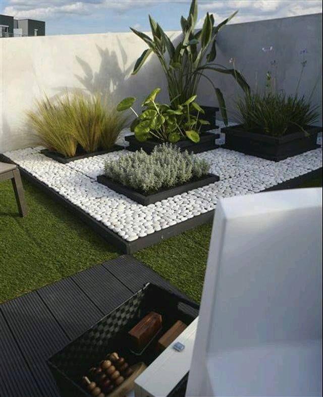 Minimalist Garden · Landscaping Ideas, Stone Landscaping, Modern  Landscaping, Front Yard Landscaping, Pathway Ideas,